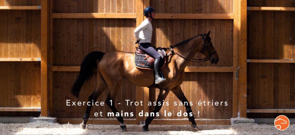 exercices de mise en selle pour cavaliers