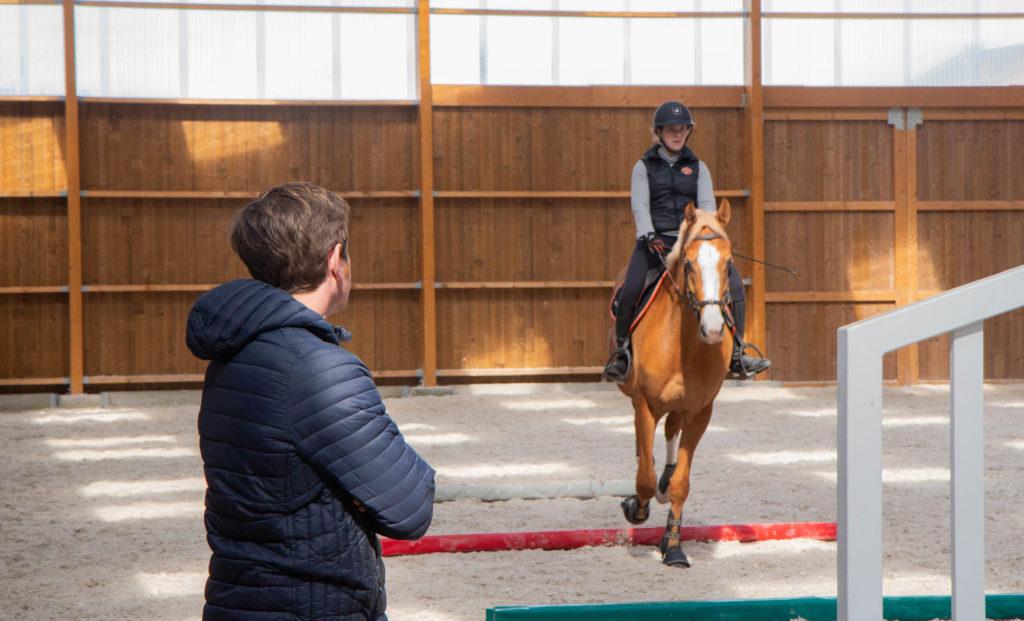 coach pour aider à avoir moins peur à cheval