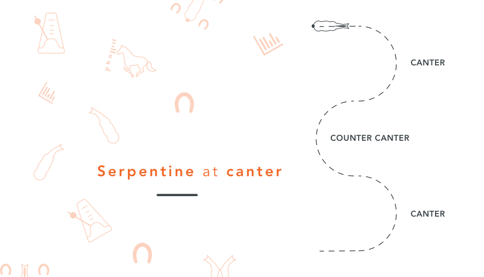 serpentine at canter