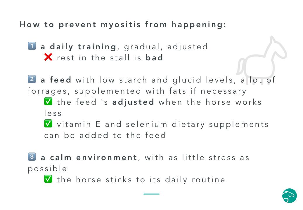 preventing myositis