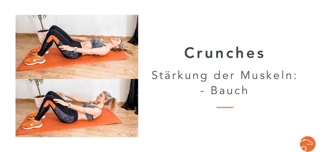 Muskelaufbau Reiter Crunches