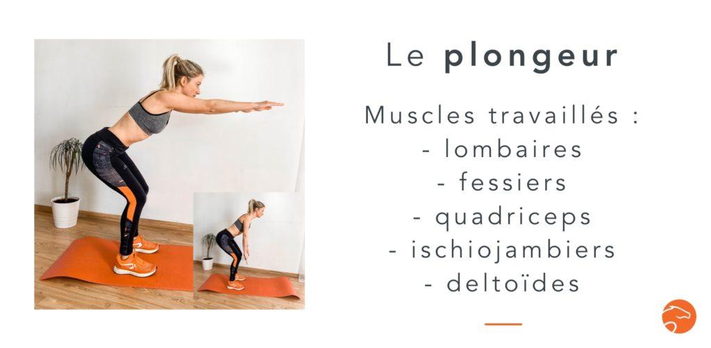exercices de musculation spécial cavalier le plongeur