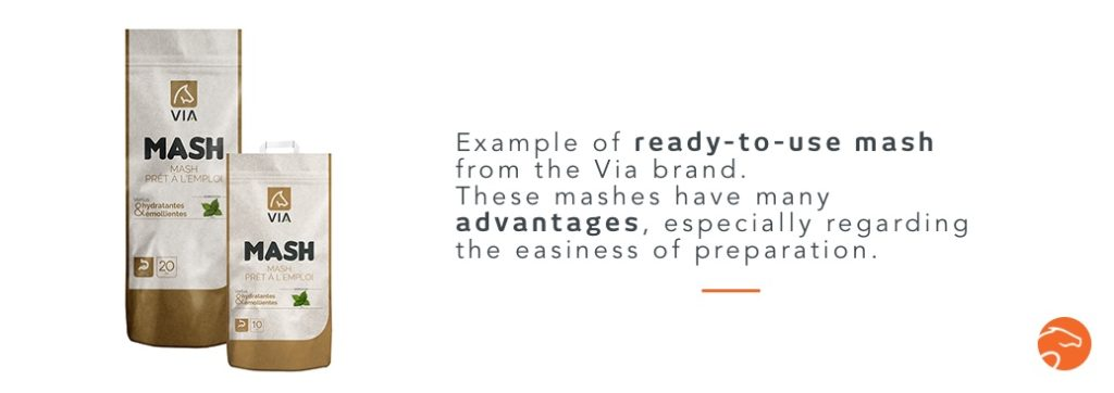 Example of ready-to-use mash